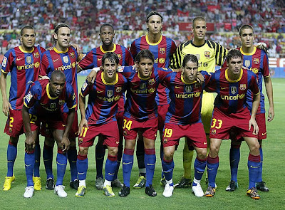 Barcelona Football Club Squad Pictures