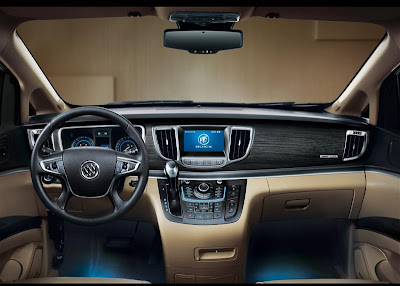 2011 Buick GL8 Car Interior