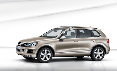 2011 Volkswagen Touareg Official Photos