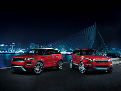 2012 Land Rover Range Rover Evoque 5-Door Exotic Sports Car