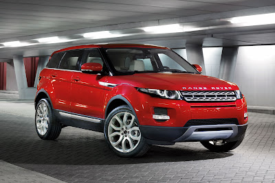 2012 Land Rover Range Rover Evoque 5-Door unveiled