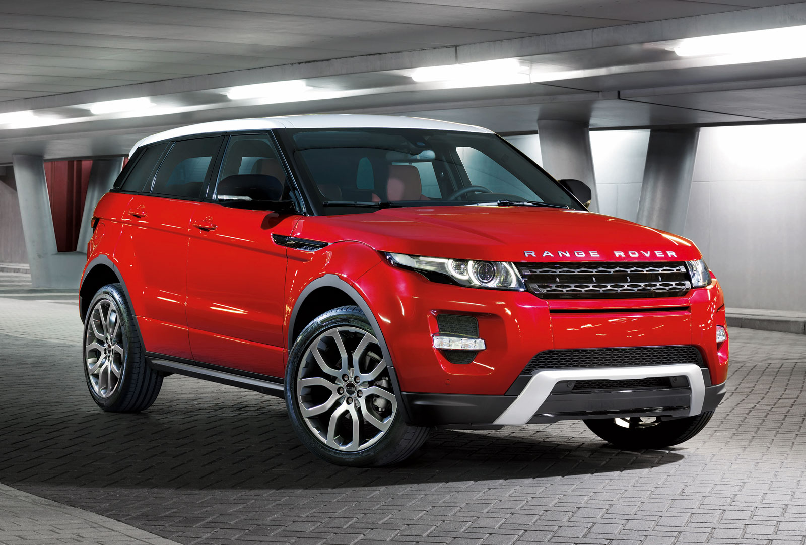 2012 land rover range rover evoque 5 door official photos. Black Bedroom Furniture Sets. Home Design Ideas