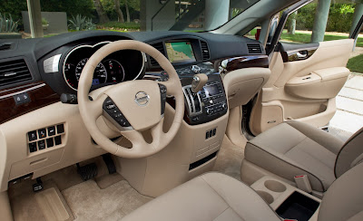 2011 Nissan Quest Car Interior