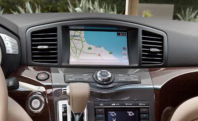 2011 Nissan Quest Navigation Screen