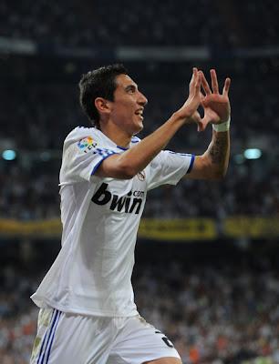 Angel Di Maria Real Madrid Football Player