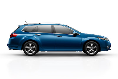 2011 Acura TSX Sport Wagon Side View