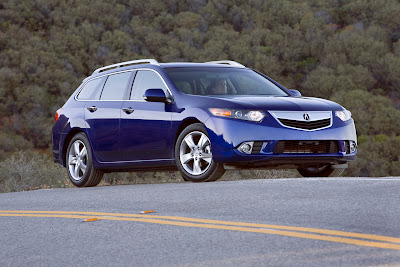 2011 Acura TSX Sport Wagon Front Angle View