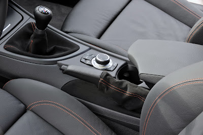 2011 BMW 1 Series M Coupe Shifter