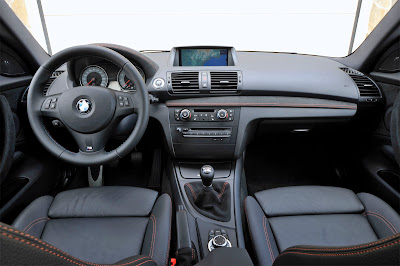 2011 BMW 1 Series M Coupe Dashboard