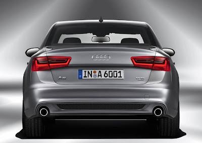 2012 Audi A6 Rear View