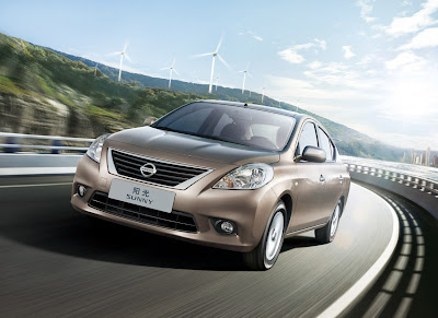 2012 Nissan Sunny Official Photos