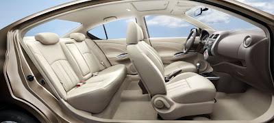 2012 Nissan Sunny Car Seats