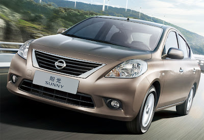 2012 Nissan Sunny Front Angle View