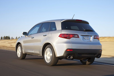 2011 Acura RDX Rear Angle View