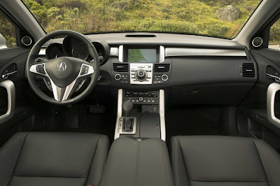 2011 Acura RDX Interior View