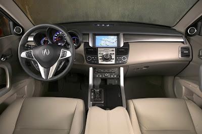 2011 Acura RDX Dashboard