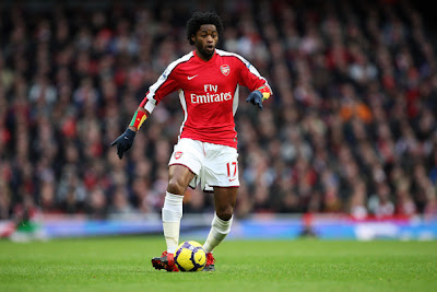 Alex Song Arsenal Soccer Player