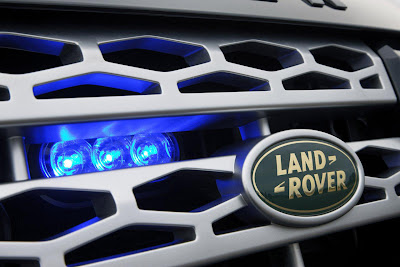 2011 Land Rover Discovery 4 Armoured Grille and Badge
