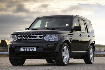 2011 Land Rover Discovery 4 Armoured Front Angle View
