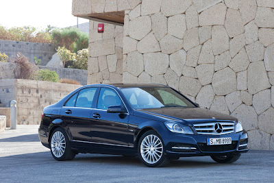 2012 Mercedes-Benz C-Class Sedan Luxury Car