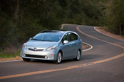 2012 Toyota Prius V Official Photos