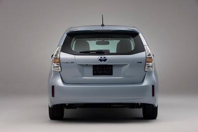 2012 Toyota Prius V Rear View