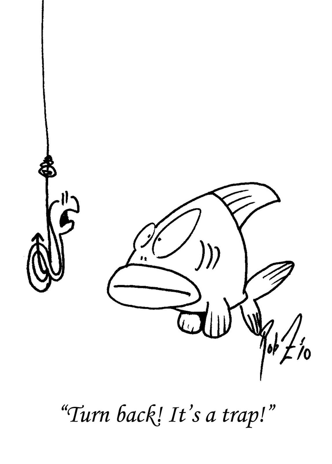 PLATYPUS WRANGLER: fish joke