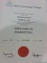 DIPLOMA 的文凭