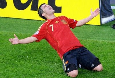 Pictures David Villa on Football Blog   Road To World Cup 2010  David Villa Is The Top Scorer
