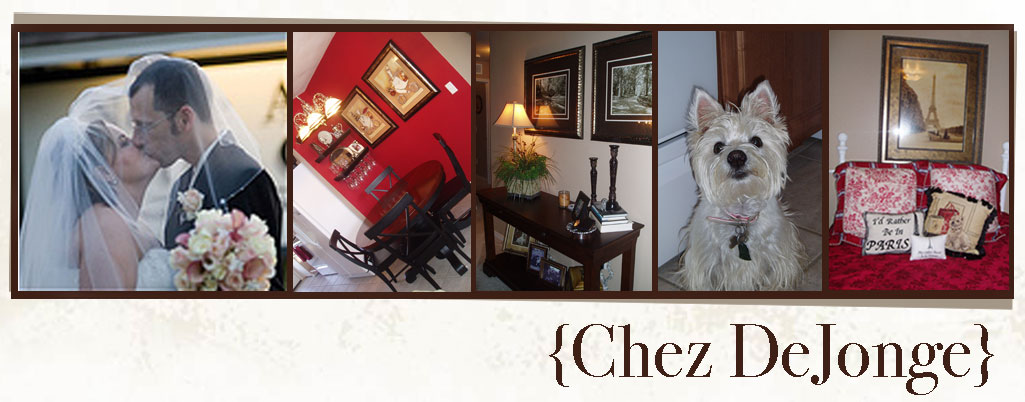 {Chez DeJonge}