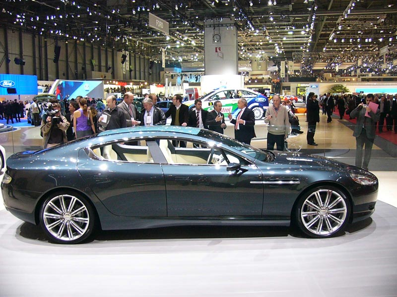 Pimped Cars: Aston Martin Rapide concept 4 Door