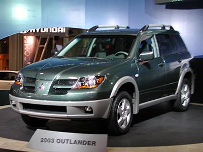 cars cars n only cars mitsubishi outlander 2003 2010. Black Bedroom Furniture Sets. Home Design Ideas