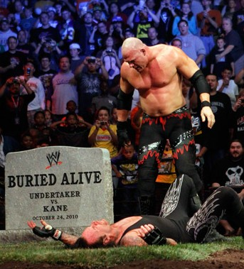 Undertaker Vs Kane Buried Alive Pictures to Pin on ... Wwe Undertaker Vs Kane Buried Alive Match