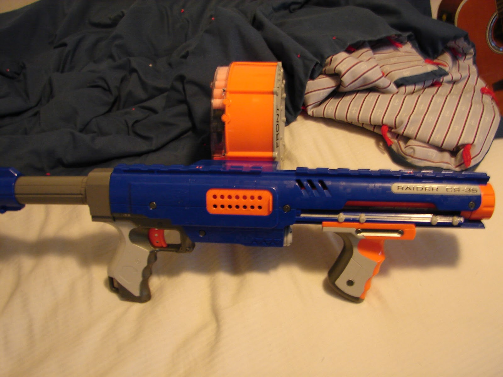 Pictures of all the nerf guns