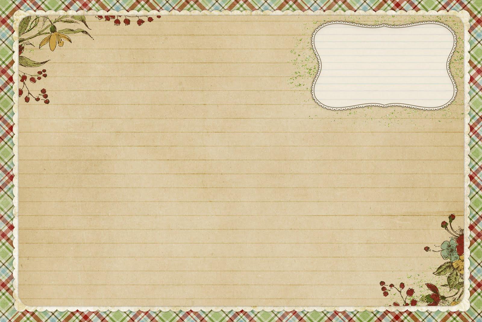 Старые открытки с рамкой