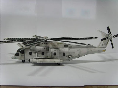 Helicopter Papercraft - Sikorsky MH-53 Pave Low