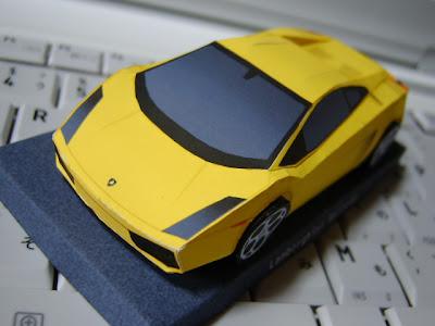 Papercraft Car Lamborghini Car Papercraft Lamborghini