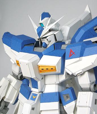 Gundam Papercraft - RX-93 2 HiNu