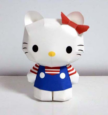 Anime Papercraft - Hello Kitty