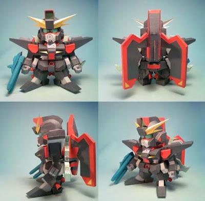 Gundam Papercraft - SD Raider GAT-X370