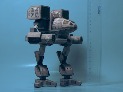 Madcat (Timber Wolf) Papercraft - BattleTech