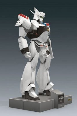 Patlabor Papercraft - AV-98 Ingram