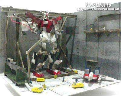 Gundam RX-78 GP01/Fb Diorama