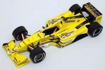 Formula 1 Papercraft - Minardi M02