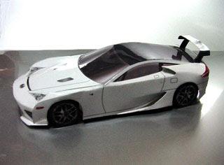 Car Papercraft - Lexus LFA Papercraft