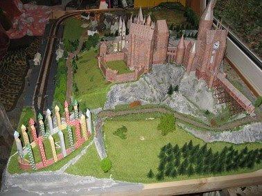 Harry Potter Papercraft - Hogwarts Castle