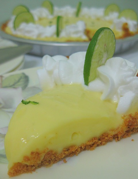 pie comes from the zest of three limes and three-quarter cup of lime ...