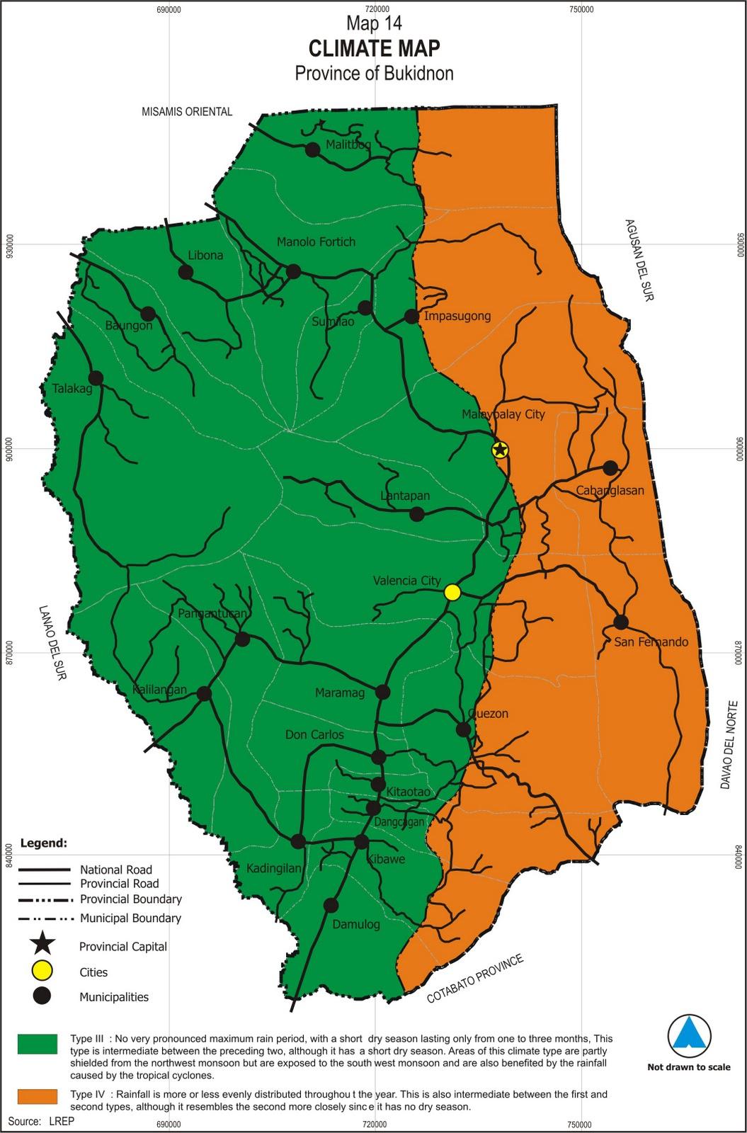 Nature Scape Bukidnon Maps