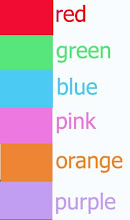 KIDS TEE COLOUR CHART