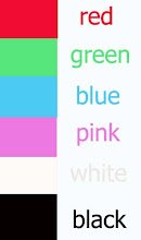 BOY /GIRL TEE COLOUR CHART